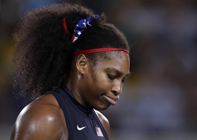Nie tylko Radwańska zawiodła w Rio. Marzeń o kolejnym medalu nie spełni również Serena Williams