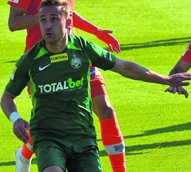 Robert Janicki strzelił pierwszego gola dla Warty