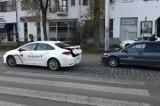 Dwie taksówki zderzyły się przy placu Bema we Wrocławiu (ZDJĘCIA)