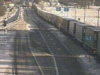 Przejście graniczne w Bobrownikach tutaj również tworzy się korek