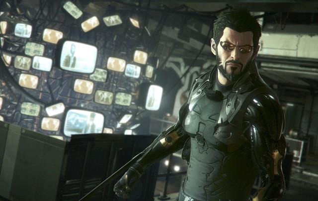 Deus Ex: Rozłam LudzkościAdam Jensen, bohater gry Deus Ex: Rozłam Ludzkości