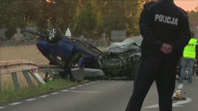 Wypadek pod Kołem. W Brdowie zginęło pięć osób, jedna jest ciężko ranna