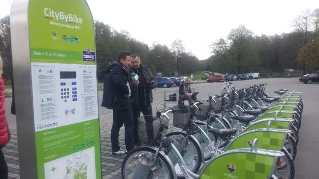 Rowery Nextbike w Katowicach