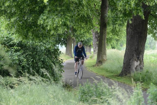 34 km dróg rowerowych nad rzeką Pilicą