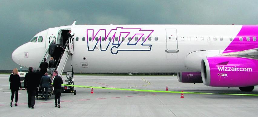 Do Pyrzowic przyleciał wczoraj József Váradi, prezes Wizz Air. Wylądował na pokładzie Airbusa A321 - najnowszego i największego samolotu, jakimi dysponuje obecnie przewoźnik.