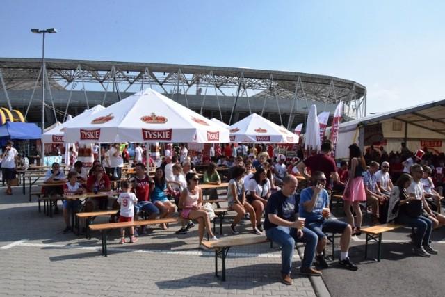 Trzy lata temu, podczas mistrzostw świata 2018 w Rosji, strefa kibica w Bielsku-Białej znalazła się na parkingu tuż obok Stadionu Miejskiego