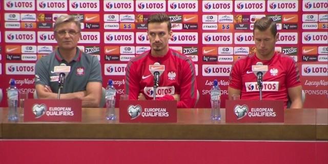 Na konferencji prasowej Adam Nawałka wyjawił nazwisko jednego piłkarza, który jutro na pewno pojawi się na murawie od pierwszych minut. Jest nim Łukasz Fabiański.