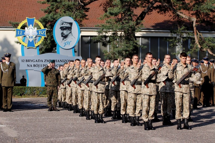 Przysięga Wojskowa w 12 Brygadzie Zmechanizowanej