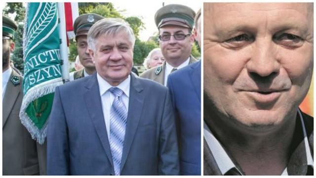 Krzysztof Jurgiel (z lewej), w wyborach parlamentarnych uzyskał 44 620 głosów. To właśnie on został następcą Marka Sawickiego (z prawej), dotychczasowego ministra rolnictwa i rozwoju wsi