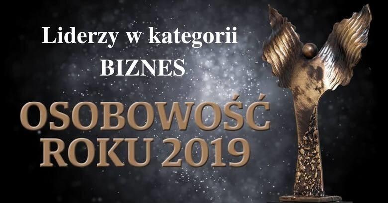 Osobowość Roku 2019 -galeria liderów w kategorii Biznes
