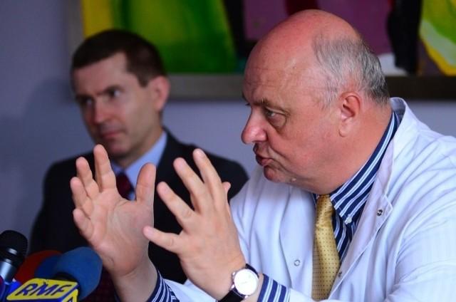 Profesor Wojciech Golusiński z Wielkopolskiego Centrum Onkologii