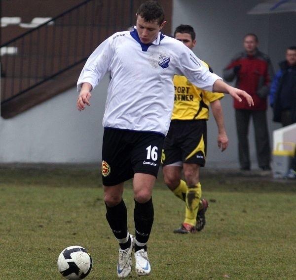 Patryk Tuszyński zdobył jedyną bramkę meczu.