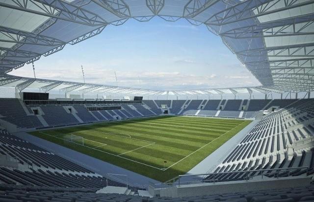 Tak miały wyglądać cztery trybuny stadionu ŁKS