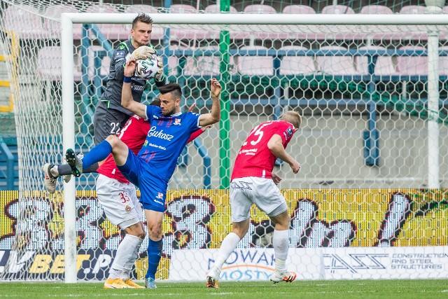 Michał Buchalik w meczu z Podbeskidziem Bielsko-Biała zagrał pierwszy raz po długiej przerwie. Był to udany występ. Bramkarz Wisły Kraków nie puścił bramki