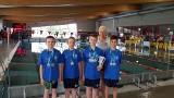 Dziewięć medali dla UKS Delfin Tarnobrzeg na Międzywojewódzkich Drużynowych Mistrzostwach Młodzików 12-letnich