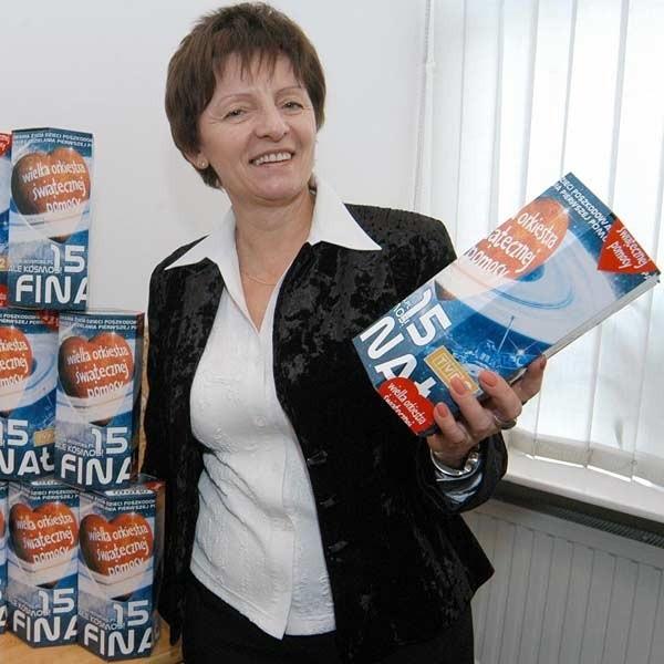 - W sztabie mamy już wszystko gotowe - mówi Anna Gargała, szefowa sztabu w MDK w Rzeszowie.