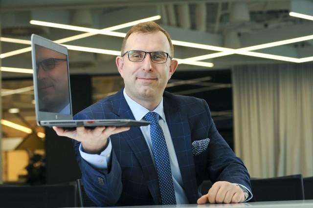 Robert Strzelecki, prezes zarządu Grupy Kapitałowej TenderHut
