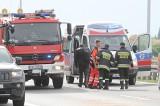 Uwaga! Wypadek w Kruszynie. Zginął motocyklista