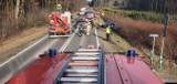 Libiąż. Wypadek na DW 933. Trzy osoby trafiły do szpitala [ZDJĘCIA]