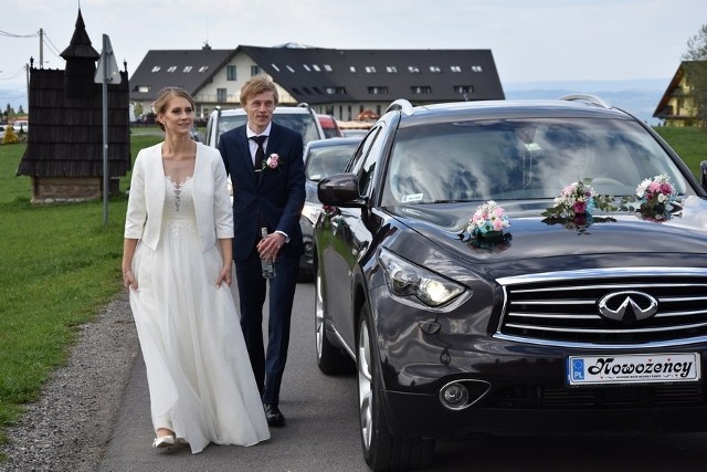 Ślub Dawida Kubackiego i Marty Kubackiej (z domu Majcher)