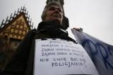 Wrocławski protest przeciwko brutalności policji. Frekwencja wyjątkowo mizerna