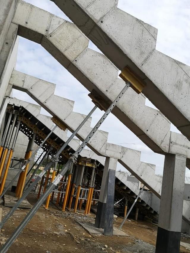 Stadion w Szczuczynie nabiera kształtów