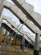 Szczuczyn. Trwa budowa nowoczesnego stadionu. Obiekt z dnia na dzień pięknieje w oczach [ZDJĘCIA]