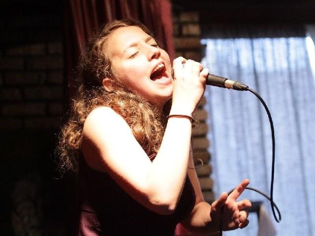 Katarzyna Górska, 15-letnia wokalistka z Czarnej Białostockiej