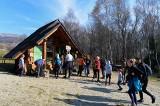 Bieszczady. Turyści na szlaku Wołosate-Tarnica w piękny jesienny dzień [ZDJĘCIA]
