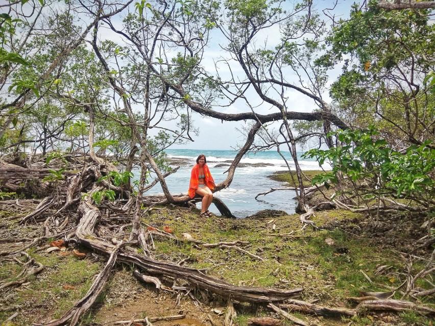 Edyta Gocalińska odpoczywała na wybrzeżu Bocas del Toro w Panamie, gdzie Morze Karaibskie spotyka się z dżunglą.