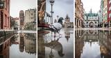 Oto Gdańsk widziany w kałuży!! Odkryj na nowo miejsca, które już znasz. Zobacz niezwykłe zdjęcia naszej fotoreporterki