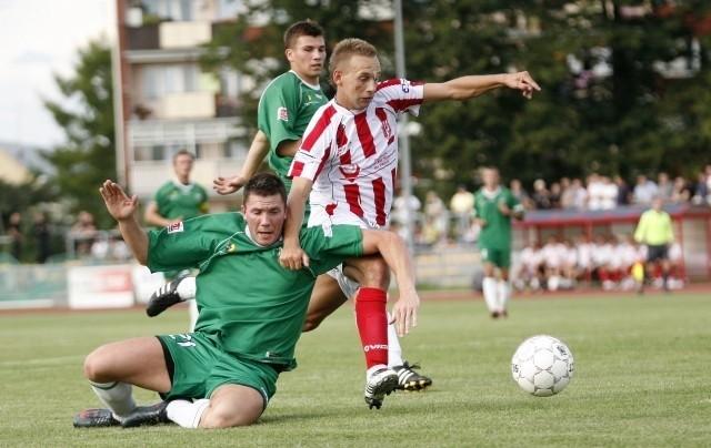 Sebastian Hajduk strzelił swego 14 gola w sezonie.