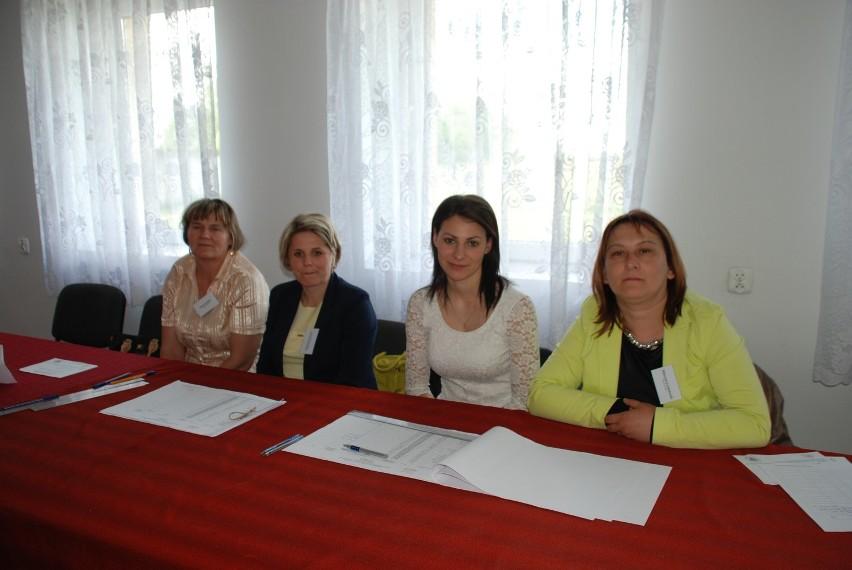 Komisja obwodowa w Orlu.