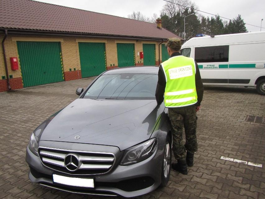 Patrol Straży Granicznej w gminie Płaska zatrzymał do...