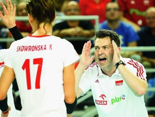 Piotr Makowski nie jest już trenerem polskich siatkarek.