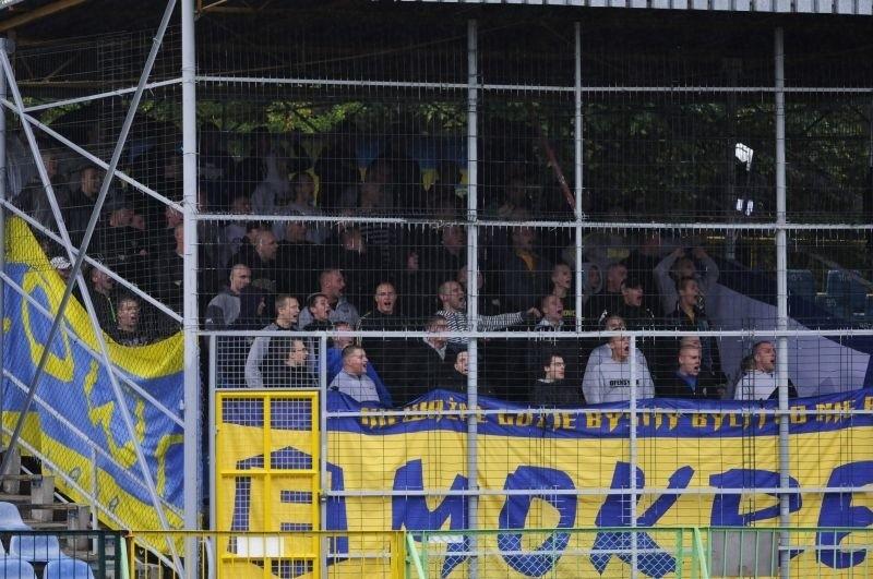 Kibice na meczu Lech Rypin - Elana Toruń [zobacz zdjęcia]
