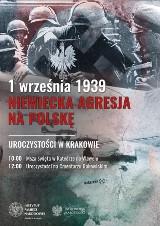 Uroczystości z okazji 80. rocznicy wybuchu II wojny światowej w Małopolsce. Nie tylko w Krakowie