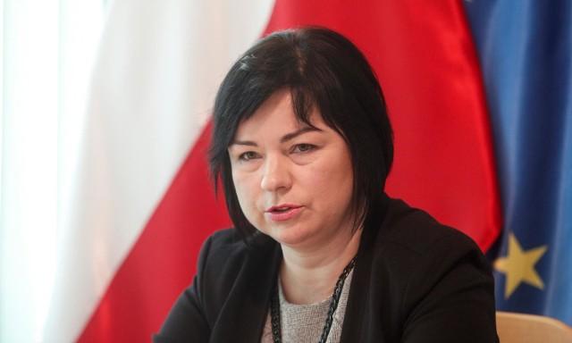 Anita Drążek, przewodnicząca Okręgowej Rady Pielęgniarek i Położnych w Rzeszowie