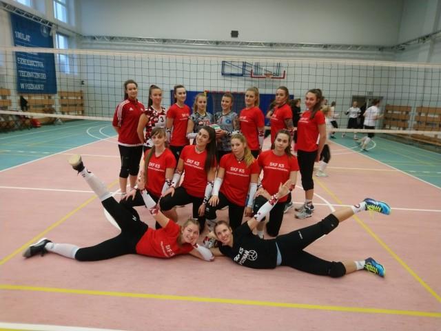 Zespół SKF PBS Politechnika Poznańska to drużyna kreatywnych i wiecznie uśmiechniętych siatkarek