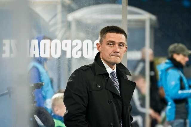 Mariusz Rumak odniósł pierwsze zwycięstwo z zespołem Zawiszy.