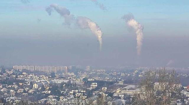 W styczniu Kraków dusił się w smogu, normy były przekroczone nawet ośmiokrotnie