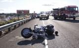 Białostocki policjant odpowiada za spowodowanie wypadku. Radiowóz zderzył się z motocyklem.