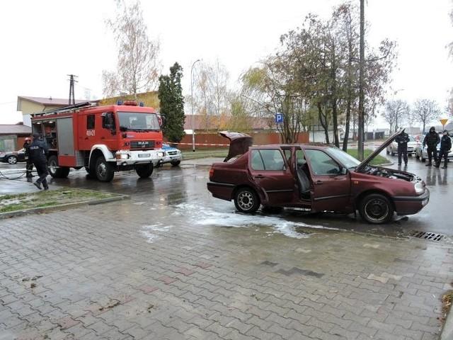 Rolnik podpalił samochód i chciał wysadzić siedzibę ARiMR w Bielsku Podlaskim
