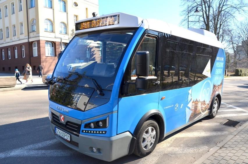 Elektryczny minibus będzie jeździć na trasach firmy Gryf