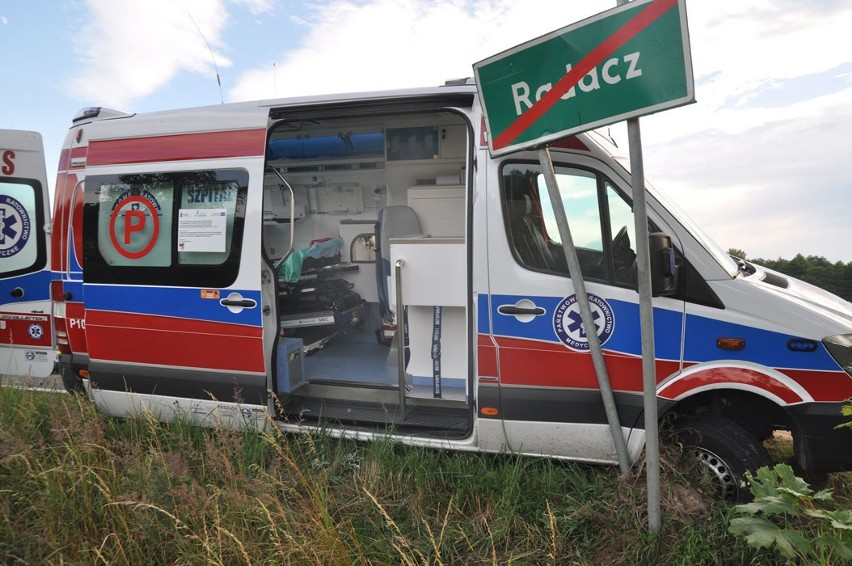 Po wypadku w Szczecinku. Powiat duży, a karetek mało