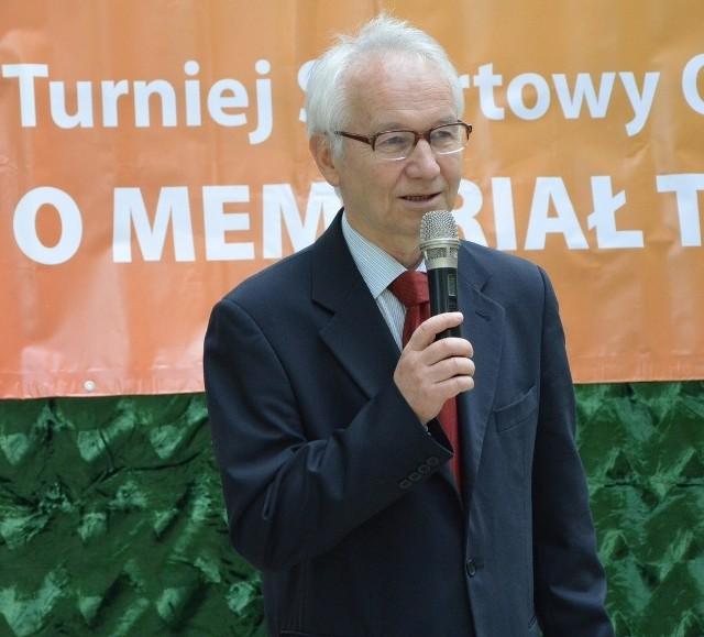 Kazimierz Zachwieja, dyrektor DPS w Harbutowicach