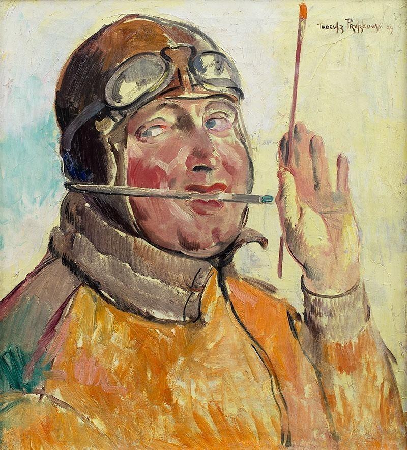 Tadeusz Pruszkowski - autoportret z 1929 roku. Jeden z obrazów wystawionych na aukcji