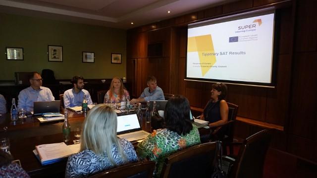 Projekt SUPER pozwala na wymianę doświadczeń nie tylko między polskimi organizacjami czy urzędami oferującymi wsparcie przedsiębiorcom, ale też na forum międzynarodowym.
