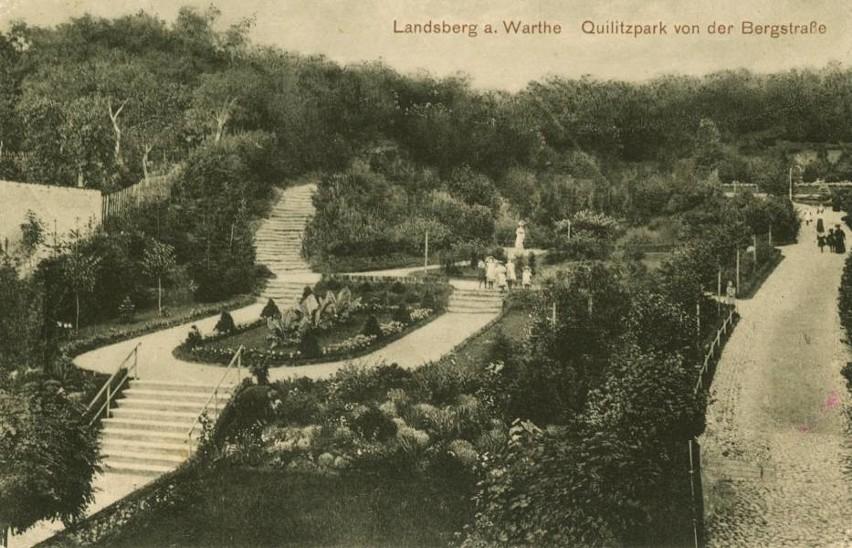 Gorzów jako Landsberg był miastem z pięknymi parkami i...
