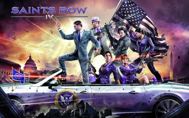 Saints Row IVSaints Row IV, czyli prawdopodobnie najweselsza gra w tym roku.